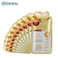 10PCS Mediheal Brighten Skin Facial Mask Collagen Gel Moisturizing Hydrating Remove Dark Spots Face Skin Care Korean Cosmetics