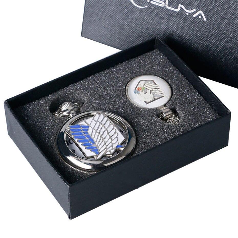 Relógios de Bolso Pingente de Prata Relógio de Bolso Presentes de Aniversário de Natal Homens Colar Relógio Cadeia Quartzo Presentes Box Grupo Masculino Cor