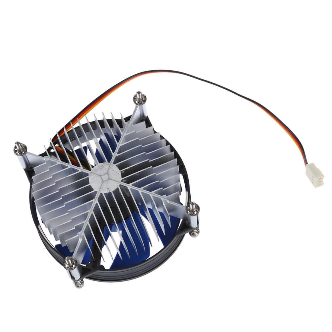 XYCP Bộ Vi Xử Lý Cooler Heat CPU Bồn Rửa cho 65 W Intel Socket LGA 1155/1156 Core i3/i5/i7 Màu Xanh