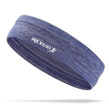 Для мужчин женская одежда для фитнеса, спорта повязка на голову Браслет Напульсник для теннис баскетбол Для Бега Спортзала фитнеса повязка на голову