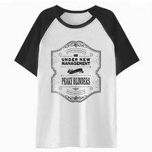 Peaky blinder t Camiseta tee ropa cadera camiseta hombres harajuku hop  divertido Camiseta Hombre streetwear( 655686151ea