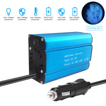 Car Power Inverter Solar Power Inverter 500W DC 12V to AC 110V Modified Sine Wave Converter with Dual USB Interface Auto(China)