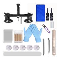 Car Glass Repair Kit With Repair Fluid Glass Crack Pit Repair Car Front Windshield Fluid Repair Kit