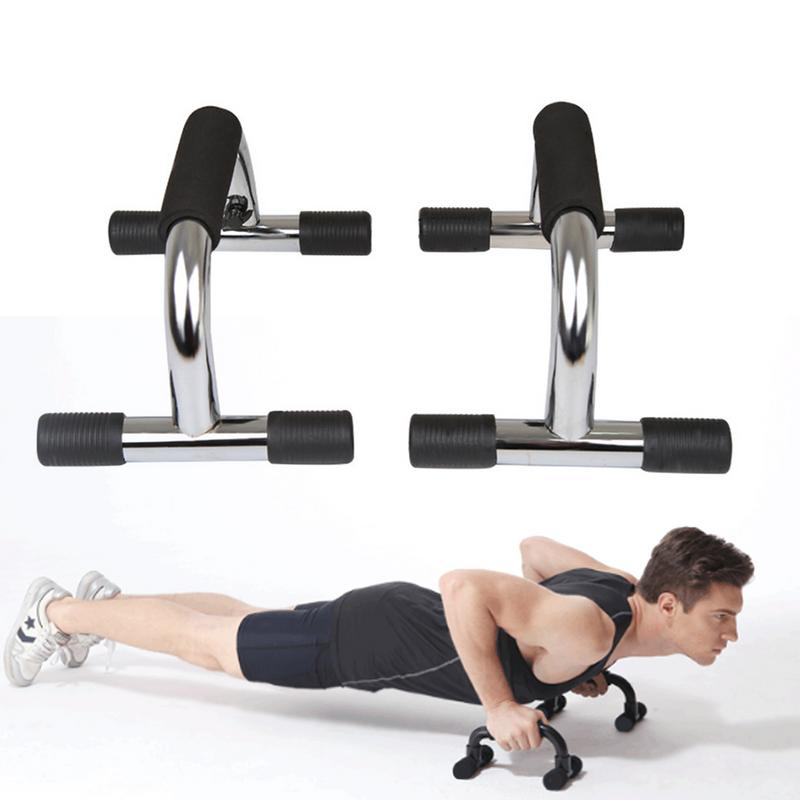 Push Up Bars Stands Foam Handle Grips Home Training Fitness Exercise Muscles