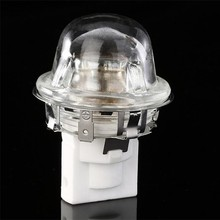 CLAITE 25W High Temperature 300 Degrees E14 Oven Baking Cap Lampholder Bulb Adapter AC110-220V(China)