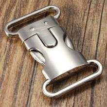 10 шт. 20 мм Diy браслет для выживания боковой быстросъемный цинковый сплав контурная гнущаяся пряжка аксессуары для багажа мебельные болты