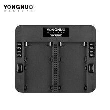 YONGNUO YN750C lityum pil şarj cihazı çift kanallı pil hızlı şarj için uyumlu Sony NP F750 NP F950/B NP F530 NP F550