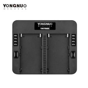 Image 1 - YONGNUO cargador de batería de litio YN750C, doble canal, carga rápida, Compatible con Sony NP F750 NP F950/B NP F530 NP F550