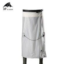 3F UL GEAR ciclismo Camping senderismo lluvia pantalones ligero impermeable falda impermeable 15D silicona sólo 65g
