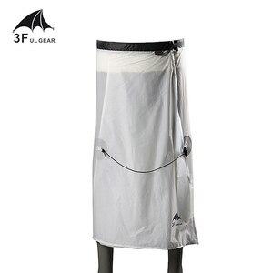 Image 1 - 3F UL ציוד רכיבה על אופניים קמפינג טיולי גשם מכנסיים קל משקל עמיד למים גשם חצאית 15D סיליקון רק 65g