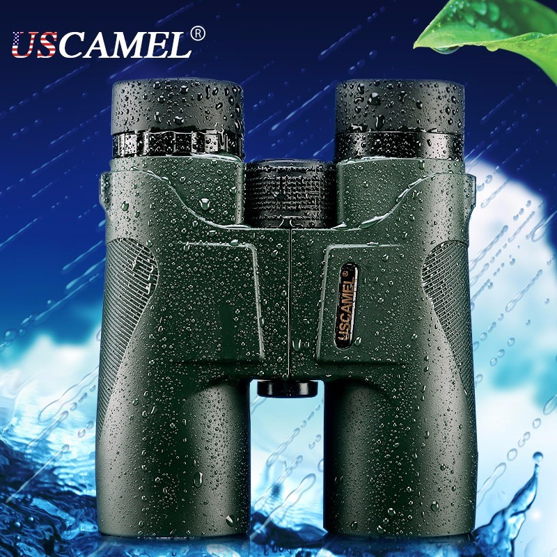 USCAMEL 10x42 Range Binoculars Military Compact Professional Hunting Telescope High Quality Power Spektiv Monocular Telescopio