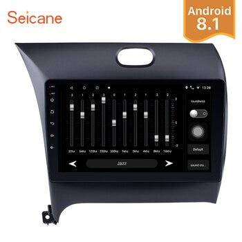 Seicane 2Din Android 7,1/8,1 9 дюймов автомобиля радио для 2013 2014 2015 2016 KIA K3 CERATO FORTE сенсорный gps Navi мультимедийный плеер
