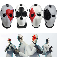 Fortniter High Stakes Mask Cosplay Fortnited High Stakes Masks Battle Royale Adult Half Face Helmet Halloween Party Dropshipping