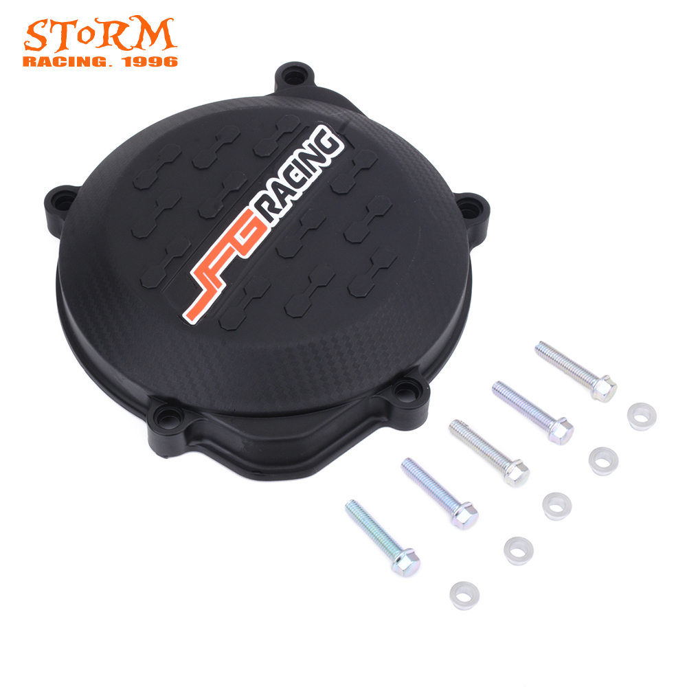 Motorcycle Clutch Cover Guard Protector For Honda <font><b>CRF450R</b></font> CRF 450R 2009 2010 2011 2012 2013 2014 2015 <font><b>2016</b></font> image