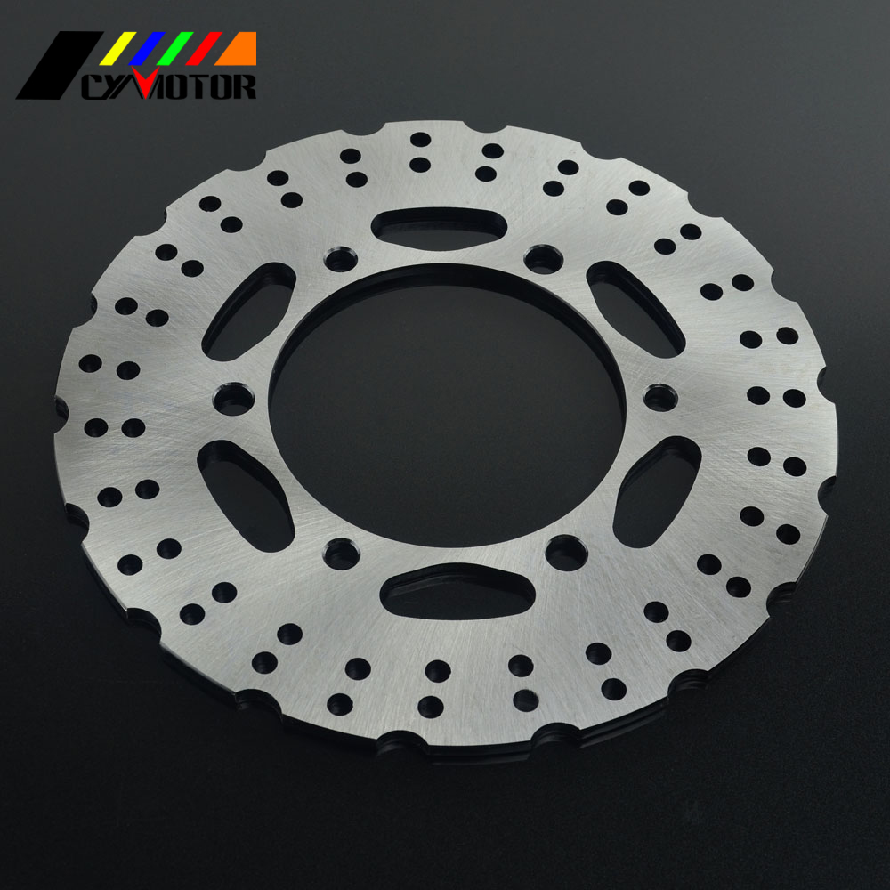 Motorcycle 220MM Rear Steel Brake Disc Rotor For KAWASAKI NINJA250 Z250 Z300 NINJA300 EX300