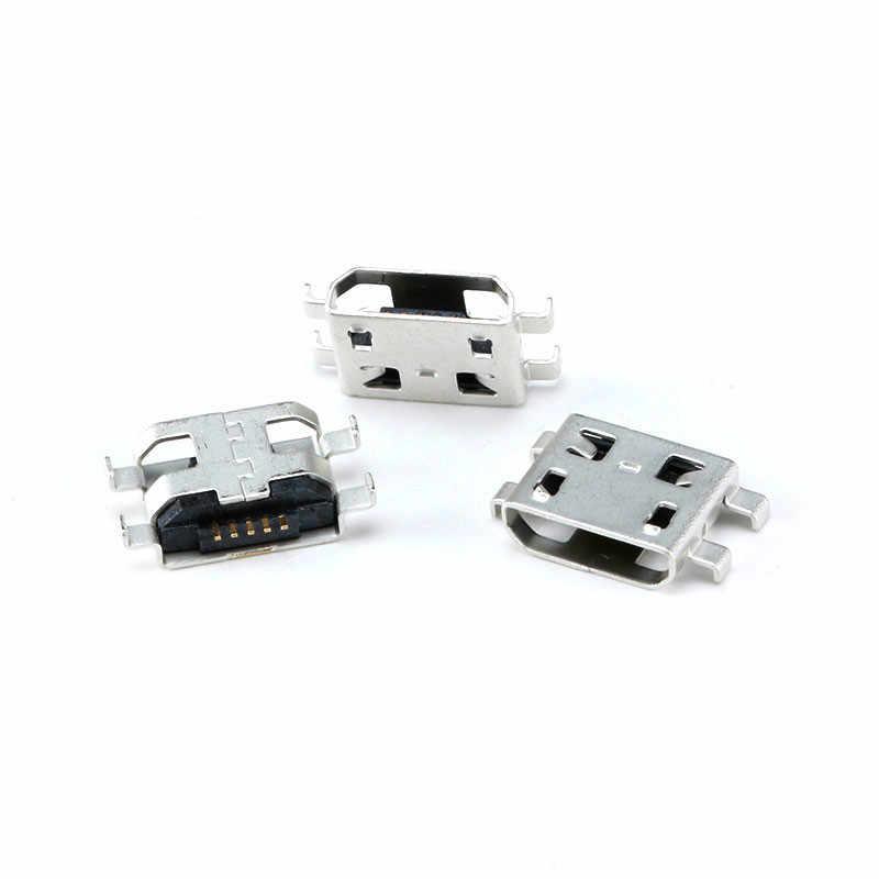 20 piezas de Conector Micro USB 5Pin 5P conector hembra MINI USB SMD DIP hembra