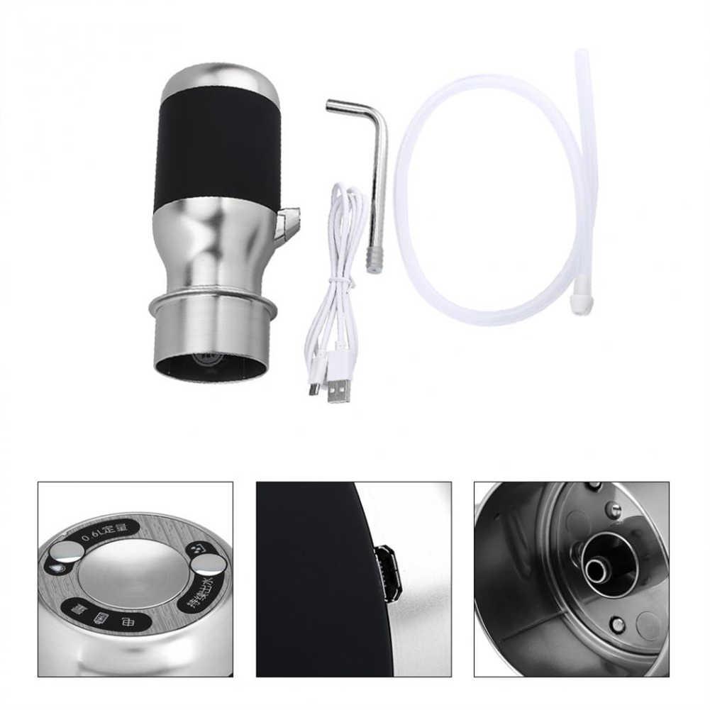 Лучшие продажи Беспроводная электрическая автоматическая бутылка для воды насос умный диспенсер с Usb перезаряжаемая электрическая батарея питьевая вода B
