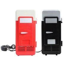 Холодильник мини-холодильник автомобильный банки напиток морозильник портативный холодильник USB PC один 19,4X9X9 см