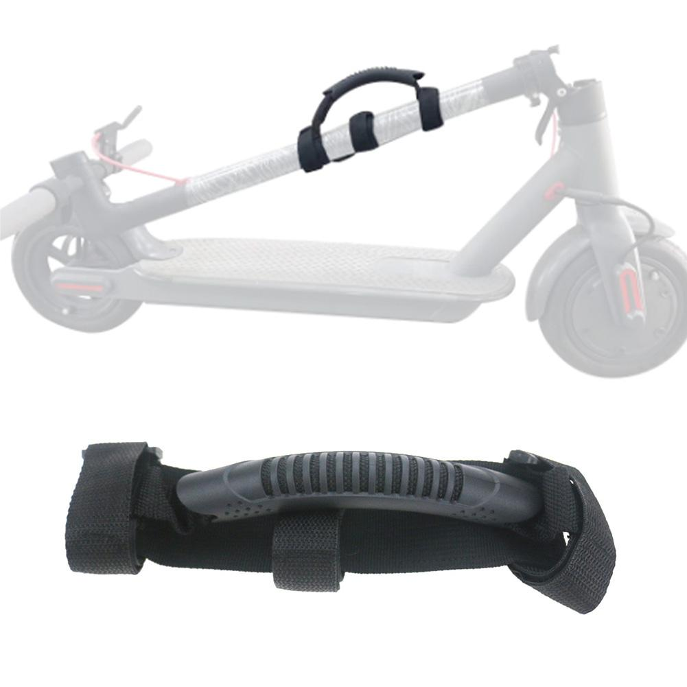 Universal For All Folding Scooters Portable Band For Xiaomi M365 Electric Scooter Accessories Scooter Handles Black Strap-in Skate Board from Sports & Entertainment