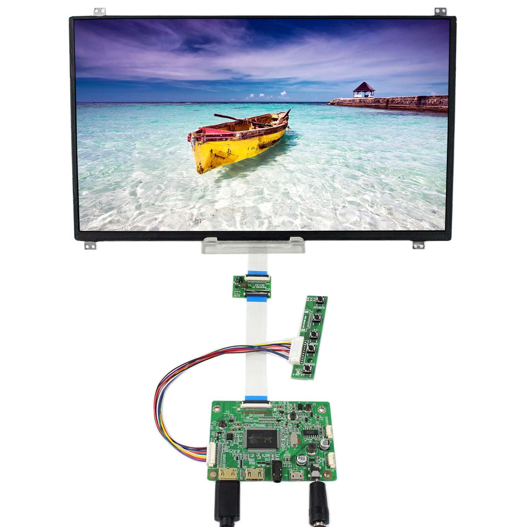 HDMI Mini LCD Controller Board With 13 3inch 1920X1080 N133HSE EB2 IPS eDP LCD Screen