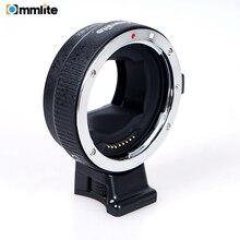 COMMLITE CM EF NEX адаптер для крепления объектива с автофокусом для объектива Canon EF для использования для Sony NEX Mount Cameras