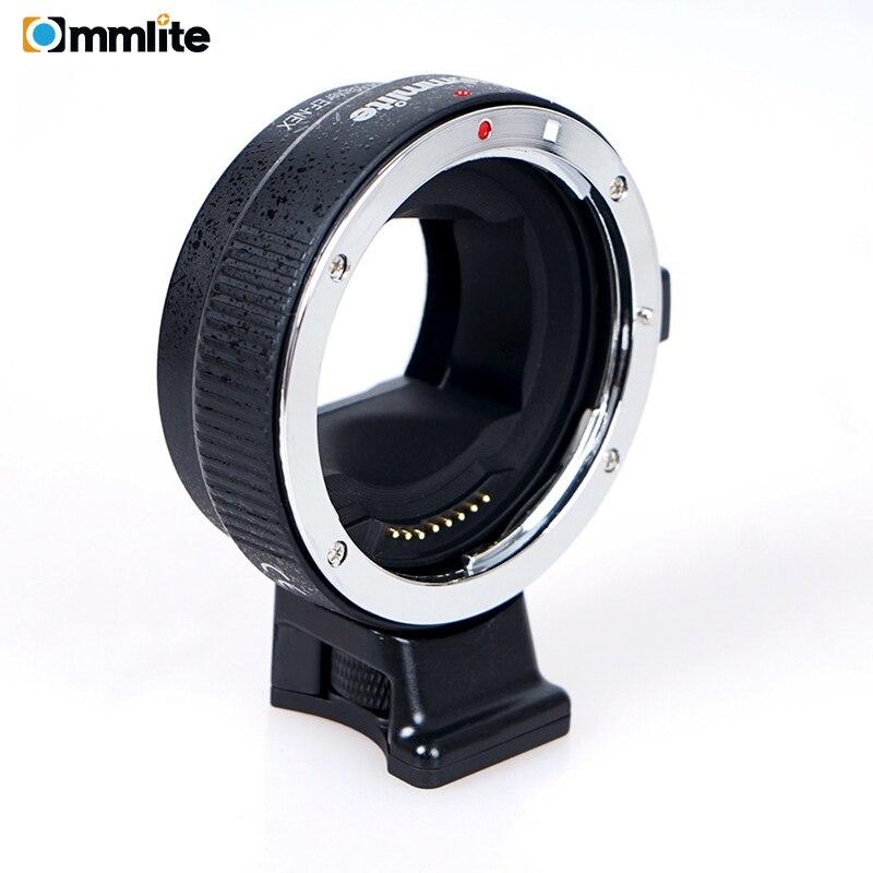 Commlite CM EF NEX adaptador de montagem de lente de foco  automático para lente canon ef para usar para câmeras de montagem sony  nexAdaptador de lente