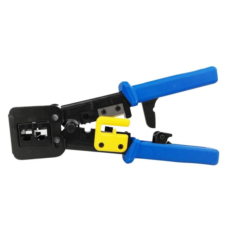 цена Networking Tools EZ RJ45 crimper Cable Stripper RJ12 cat5 cat6 Pressing Clamp Pliers Tongs Clip Clipper Multifunction Kit