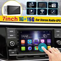 7'' Car Stereo 2DIN Android 8 Quad Core Car Stereo Radio Touchable bluetooth WiFi GPS Radio Video Player