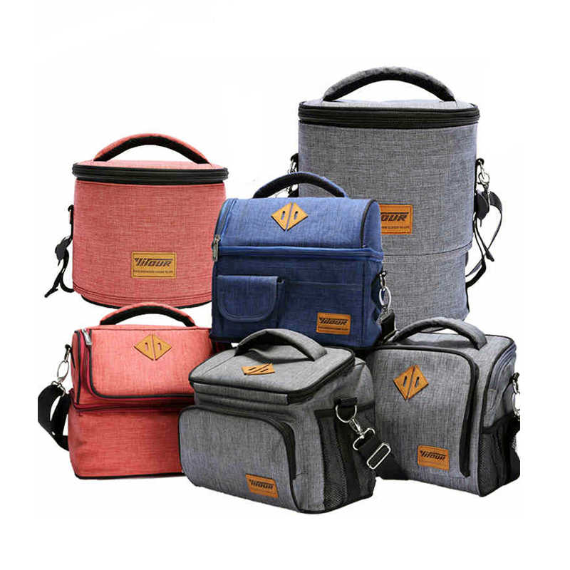 Waterproof Lunch Bag Women kids Men Cooler Insulation Lunch Cooler Pouch Container School Food Storage Tote Accessories Supplies