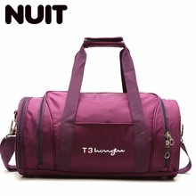 Woman Travelling Bags Nylon Bags Ladies Portable Tote Male Large Capacity Training Bag Dry And Wet Separation Travelling Bag недорого