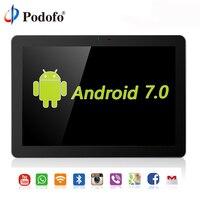 Podofo 10,1 дюймов Android 7,0 Автомобильный подголовник монитор 4G wifi USB/SD/HDMI/IR/FM задняя фронтальная камера игры сенсорный экран приложение монитор