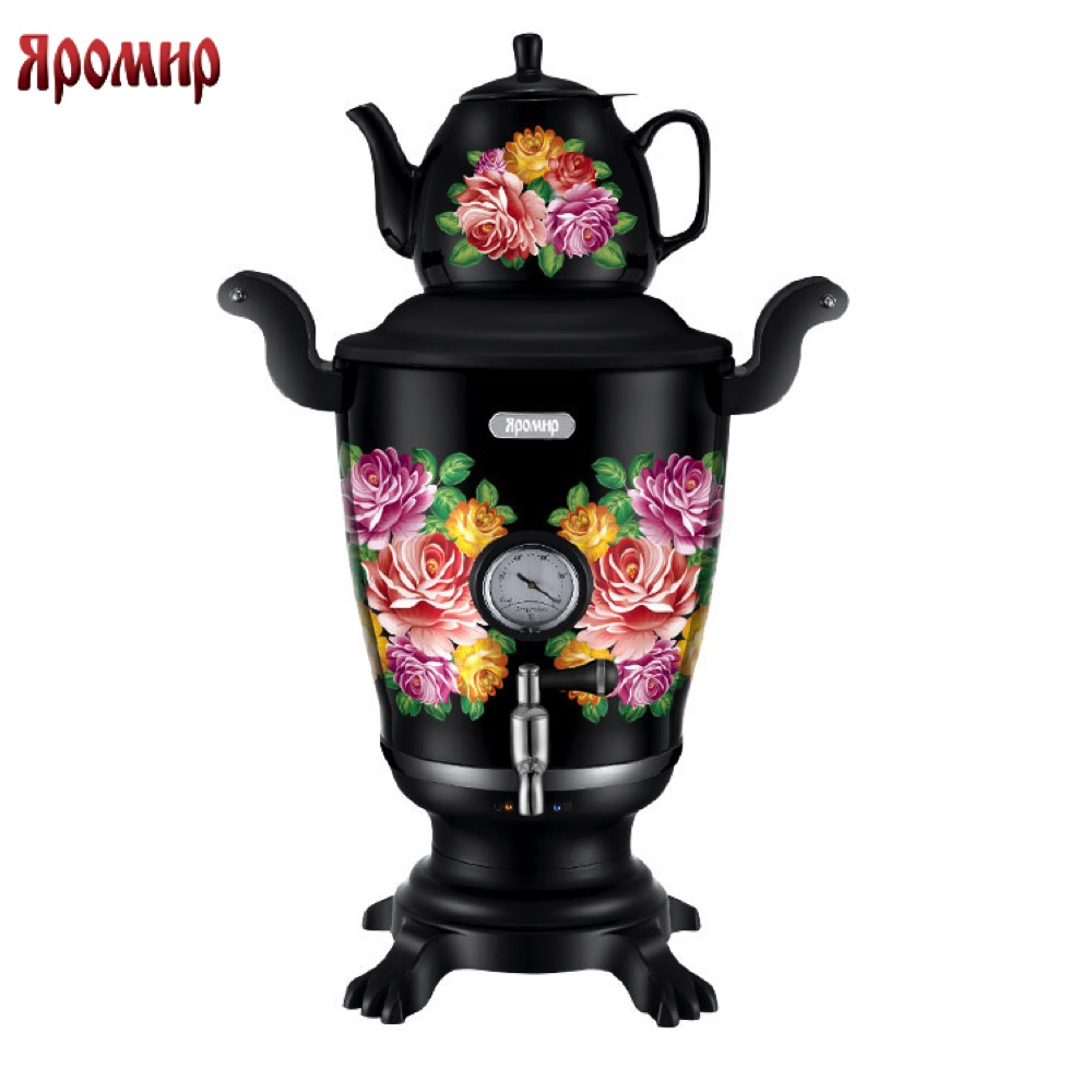 Electric Kettles YAROMIR 0R-00004042 Kitchen Appliances Teapot warmer YR-1800 kettle samovar samovar electric elis e 4023
