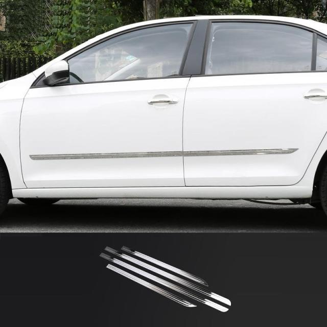 Automovil Body Door Exterior High-Grade Sticker Strip Covers Car Styling Trim Accessory 13 14 15 16 17 FOR Volkswagen Santana