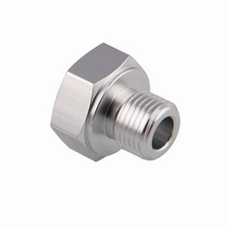 Motor Oil Pressure Sensor Adapter LS Engine Swap Male M16x1.5 Female 1//8 NPT LS1