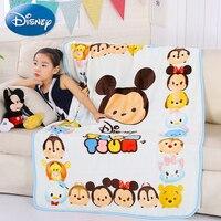 Disney Minnie Mic Pattern Baby Blanket Autumn And Winter Baby Hold Blanket 100*140 cm Newborn Child Kid Cloud Blanket
