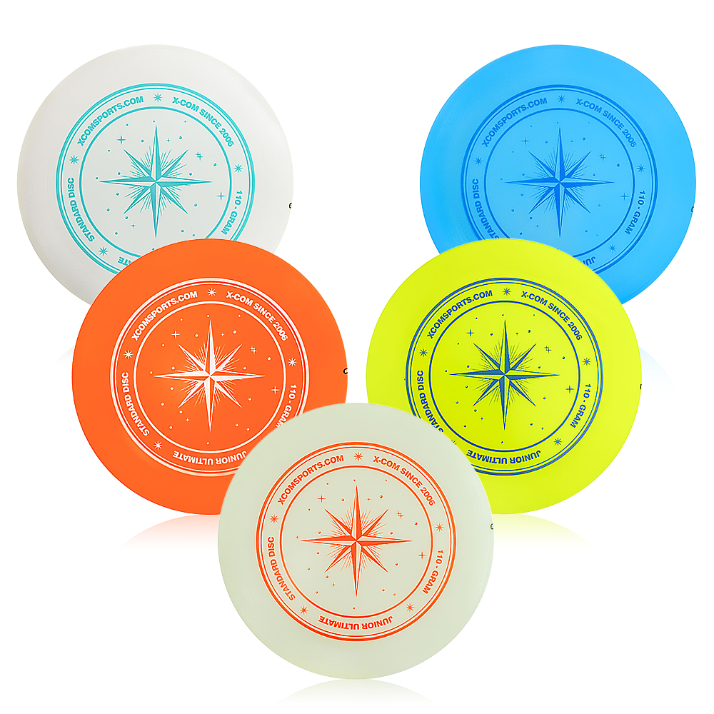 9.3 Inch 110g Professional Flying Disc Outdoor Play Toy Sport Disc for Juniors Family Water Sports Boys Kids Gift KidsLearning & Education