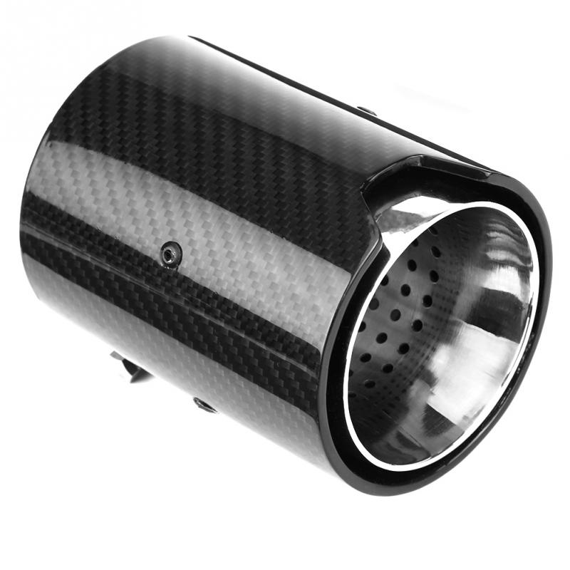 Car Exhaust Pipe Muffler End Tip Tailpipe for BMW M F87 F80 F82 F83 F10 F12 F13 X5M X6 Carbon Fiber Style Car Styling NEW