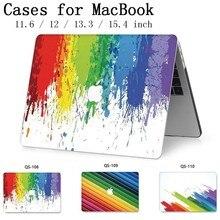 Laptop Dành Cho 2019 New Apple Macbook Air Pro Retina 11 12 13 15 13.3 15.4 Inch Với Tấm Bảo Vệ Màn Hình + Bàn phím Cove Túi Funda