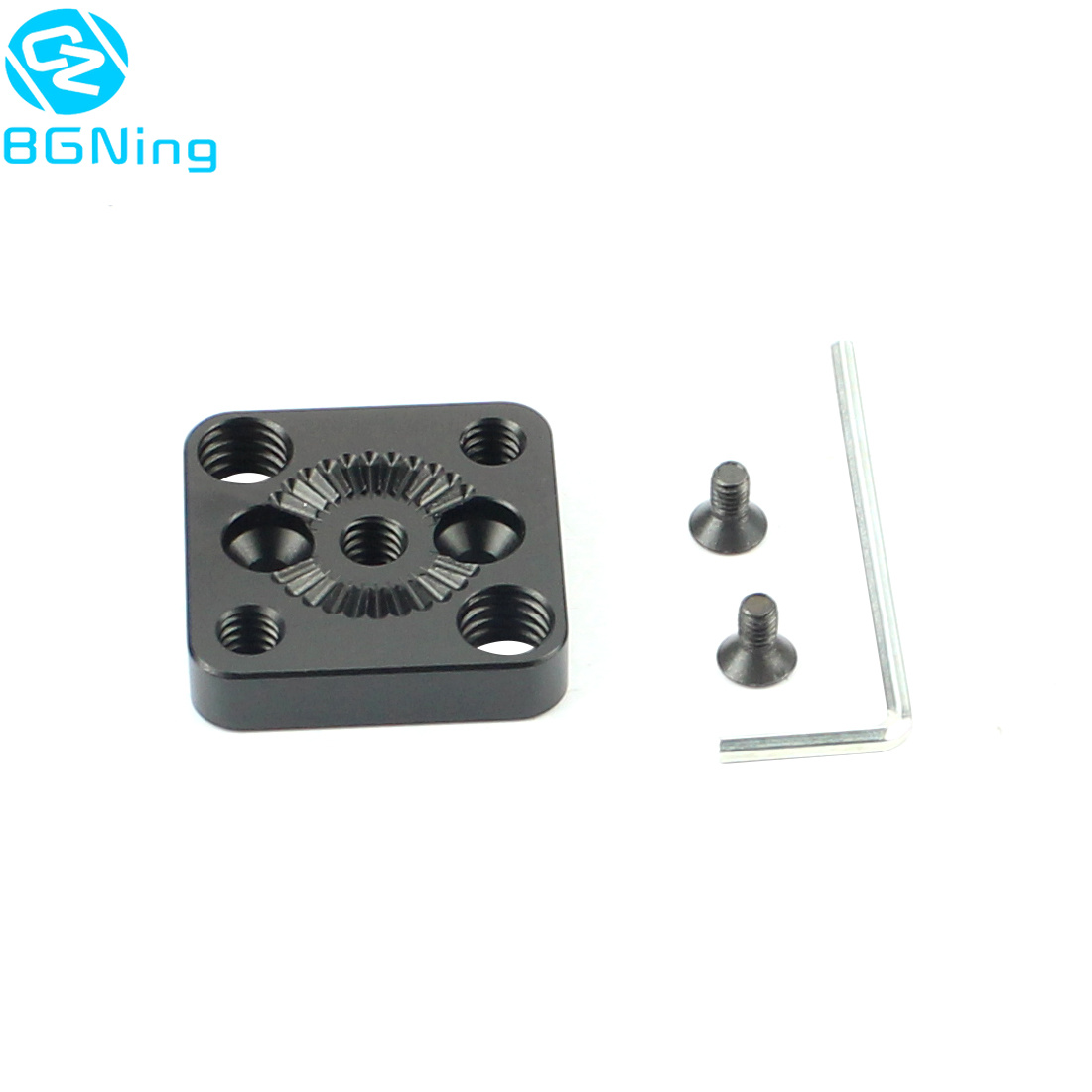 Handle Gimbal External Mounting Plate Quick Release For Arri Standard Rosette 1/4 Screw Monitor Holder M4 To 3/8 For DJI Ronin S