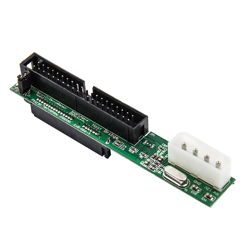 7+15Pin 2.5 Sata Female To 3.5 Inch Ide Sata To Ide Adapter Converter Male 40 Pin Port For Ata 133 100 Hdd Cd Dvd Serial