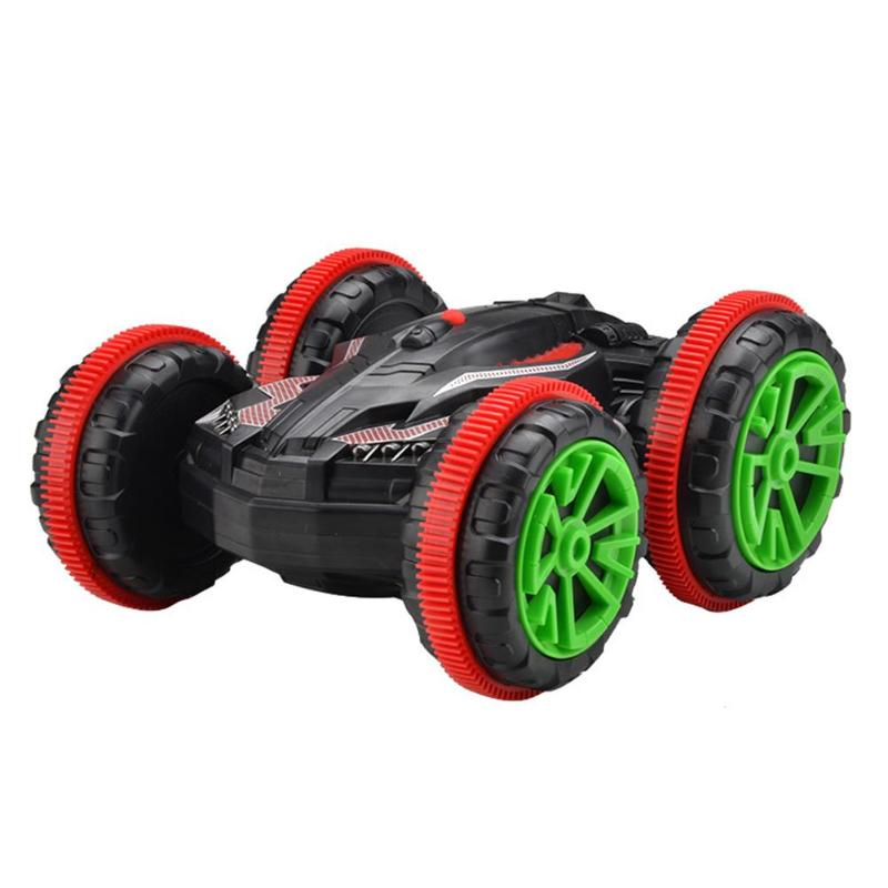 360 Rotate Remote Control Car RC Stunt Car Driving On Water And Land Amphibious Electric Toys For Children Kids Gift New Funny