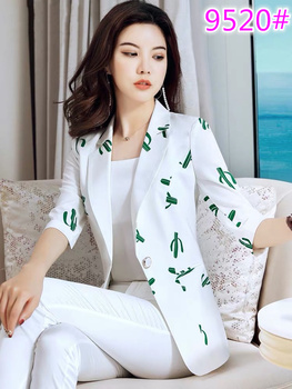 2019 New Summer Fashion Western Style Suits  Spring Clothing Chic Female Han Edition Leisure Suit Sweet Wind Coat Temperament