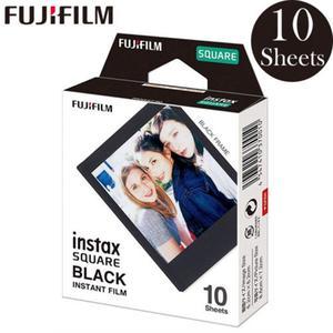 Image 1 - 후지 필름 폴라로이드 포토 용지 Instax Square Film Instax Sq10 Sq6 Sq20 인스턴트 카메라 용 화이트/블랙 에지 인화지