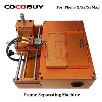 Рамка разделительная машина для iPhone X XS Max ЖК экран Рамка сепаратор с тремя прессформы напряжения 220 В