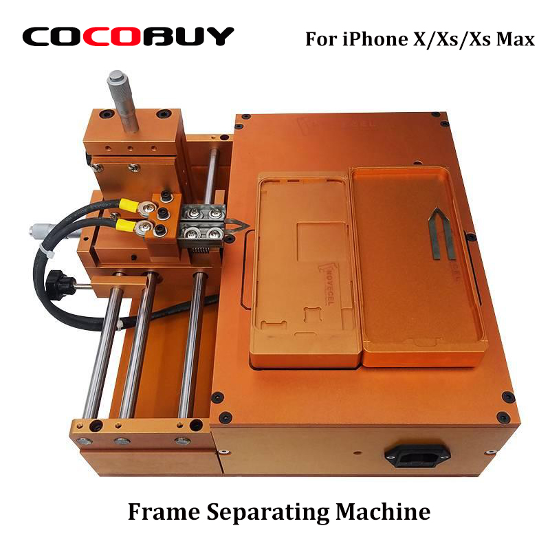 Frame Separating Machine For iPhone X XS Max LCD Screen Frame Separator With Three Mould Voltage 220V