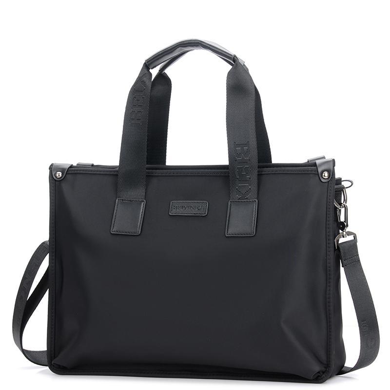 2019 New Men's Handbag Cross Section Men's Bag Shoulder Bag Messenger Bag Large Capacity Canvas Oxford Fabric Briefcase