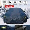 Cubierta de coche transpirable impermeable a prueba de viento a prueba de nieve a prueba de sol a prueba de arañazos cubierta protectora para coche
