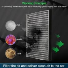Воздушный фильтр для салона, запасной чистый домашний основной пылевой фильтр, активированный уголь для Toyota Camry 2,4 87139-33010, автомобильный Стайлинг