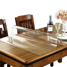 PVC Tablecloth Tablecloth Transparent Tablecloth Cover Waterproof Kitchen Pattern Oil Tablecloth Glass Soft Cloth 1.0mm