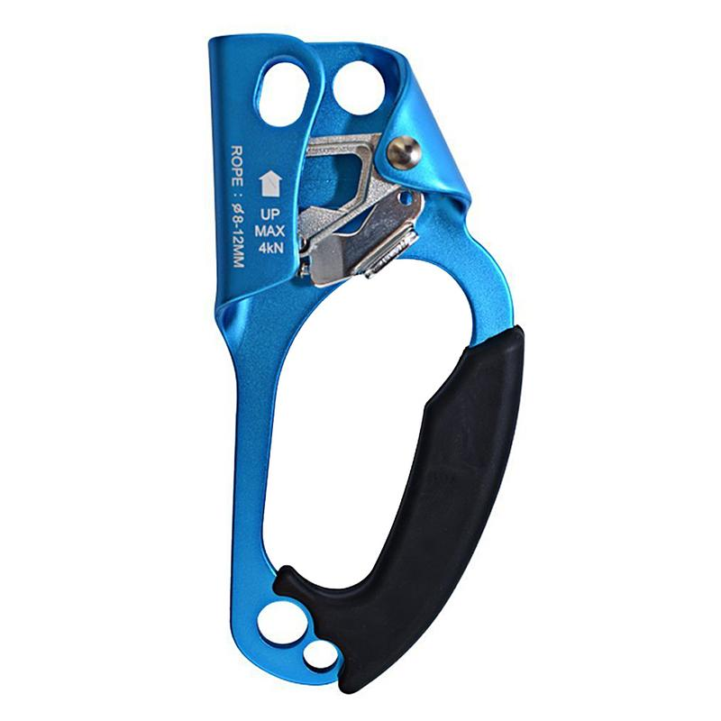 Hand Ascender Rock Climbing Tree Gear Equipment Rope Clamp For 8~13MM Rope Climbing Supplies